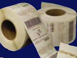 photo of labels with RFID tags