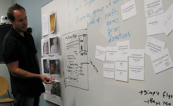 photo from design session