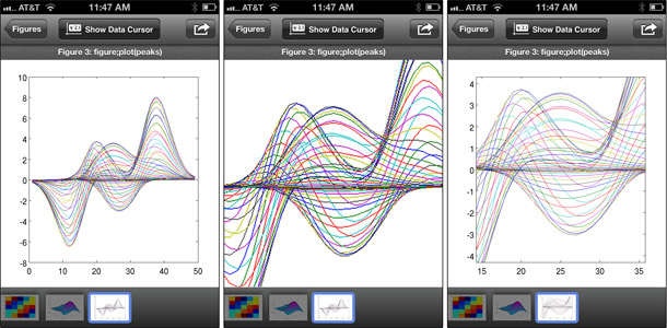 hree screen shots with different math diagrams