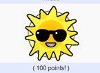 Sun icon with