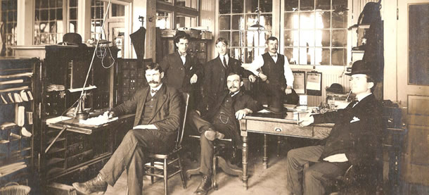 businessmen of late 19th-early 20th centrury
