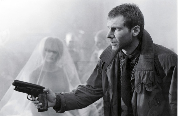 Harrison Ford in a movie photo