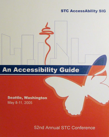 STC Accessibility SIG: An Accessibility Guide
