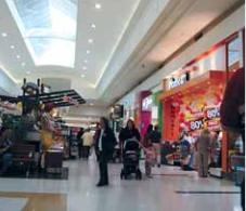 photo of interior of a shopping mall