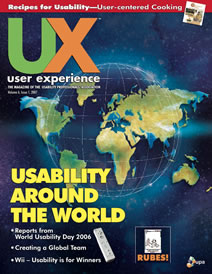 Issue cover -Issue 6.1 | March 2007