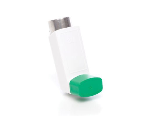 Photo of an inhaler with no special feature