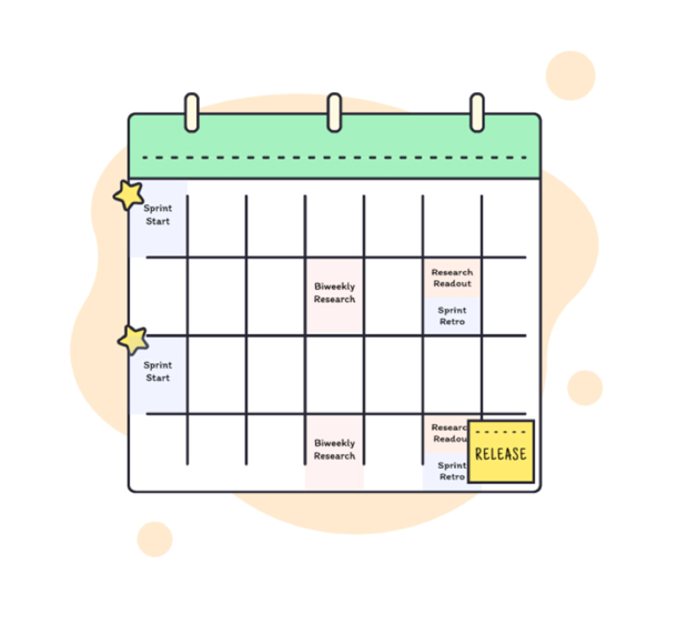 Company Wide dedicated shared research calendar