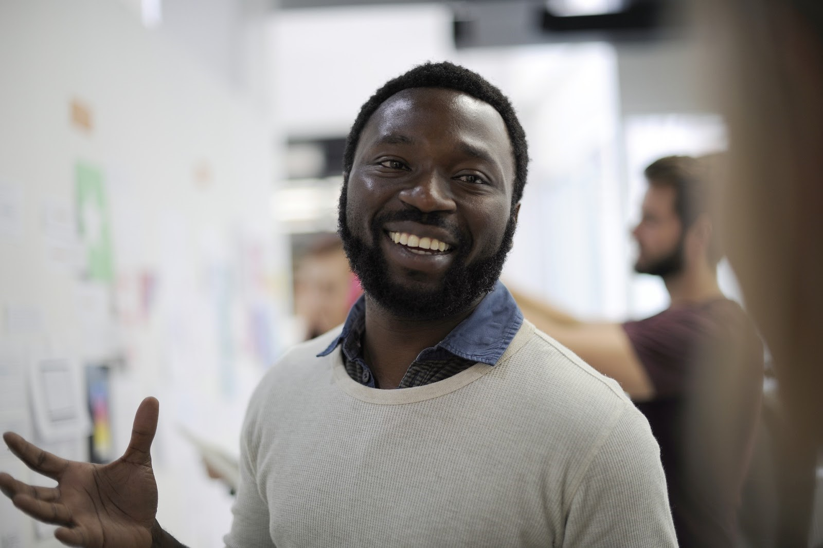 Photo of a person smiling.